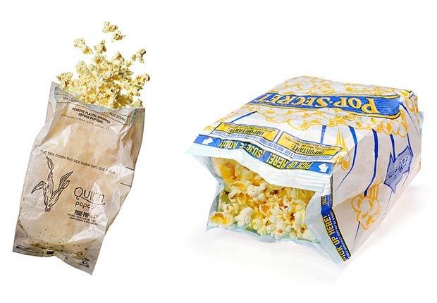 Bolsas de popcorn