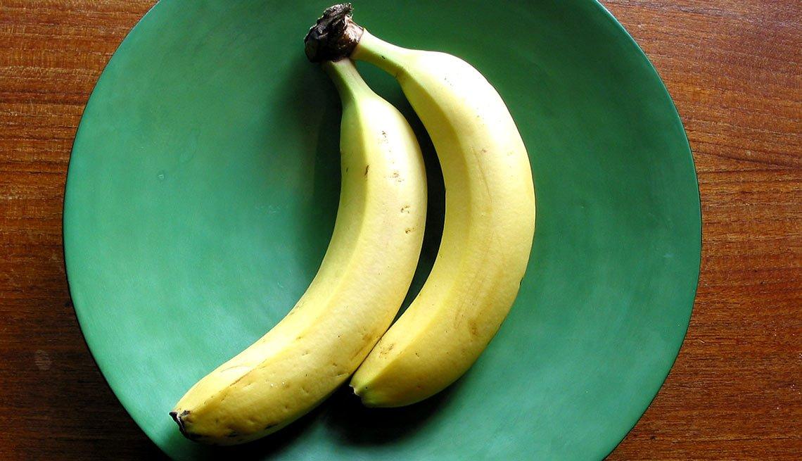 Alimentos ricos en magnesio - Bananas