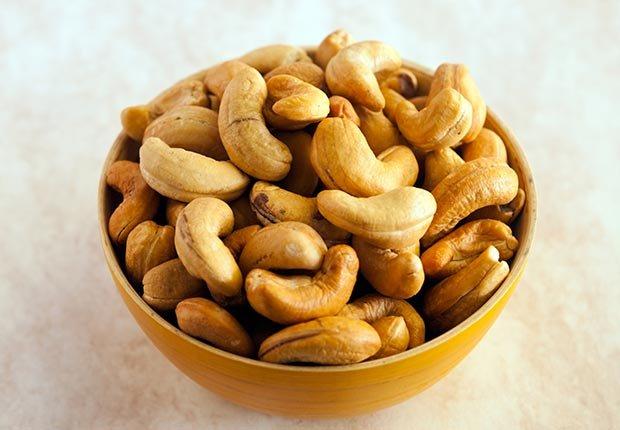 Alimentos ricos en magnesio - Anacardos