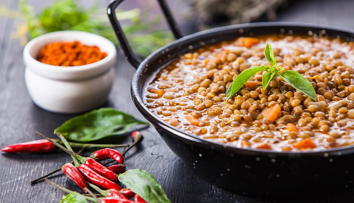 Lentils, Foods That Help Sleep