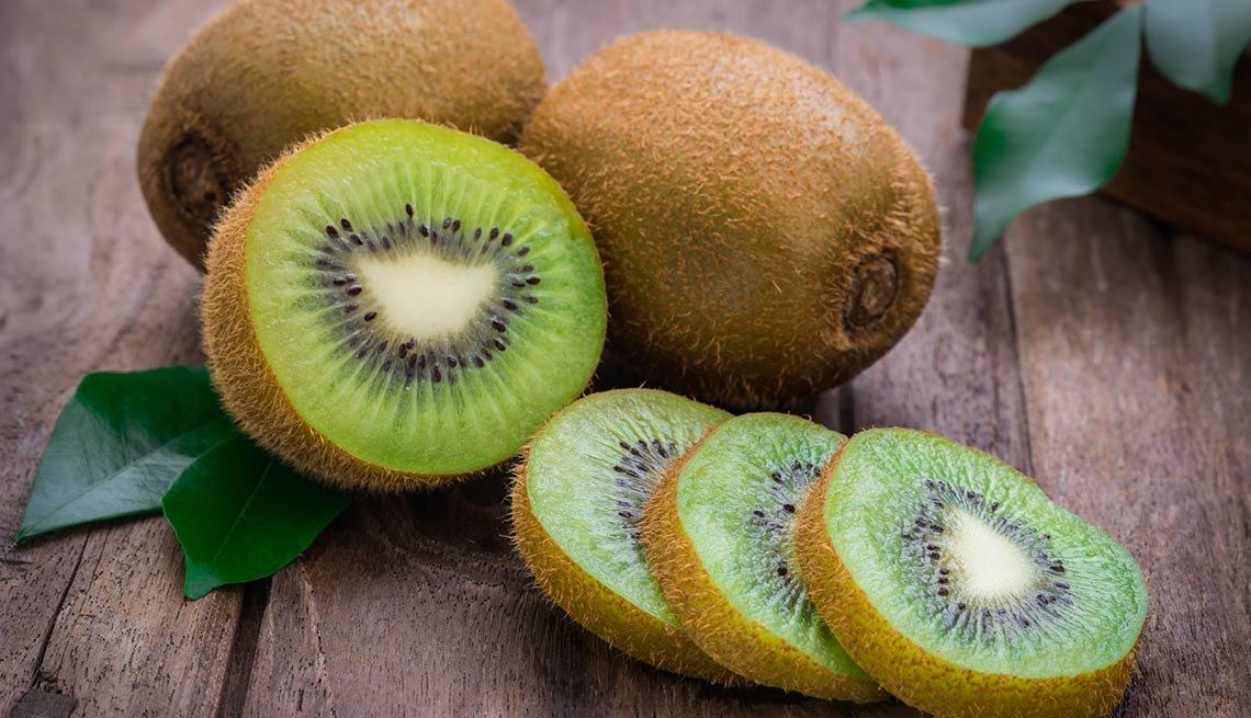 Kiwi - Frutas y vegetales que podrían causar alergias
