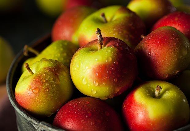 Manzanas - Frutas y vegetales que podrían causar alergias