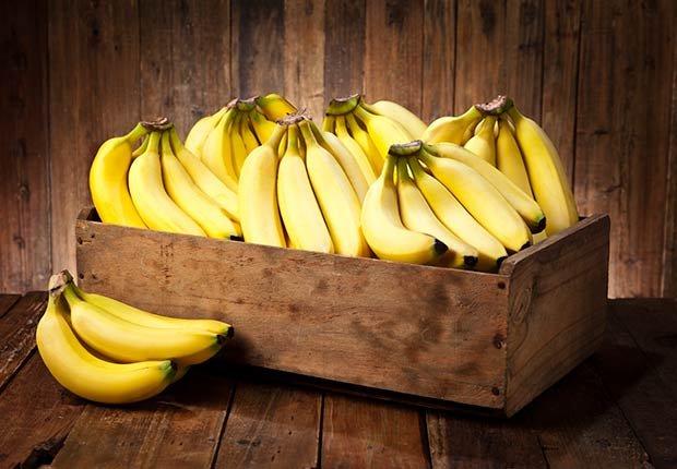 Bananas - Frutas y vegetales que podrían causar alergias