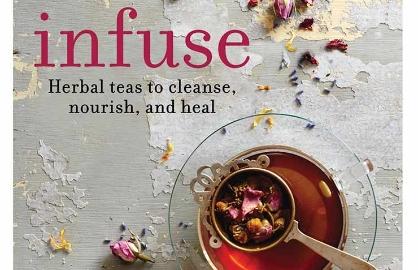 Tés con hierbas y semillas que sanan - Carátula del libro Herbal teas to cleanse, nourish and heal