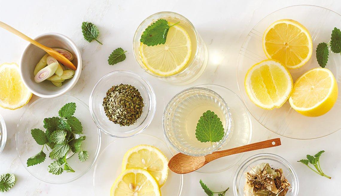 Tés con hierbas y semillas que sanan - Té para relajarse