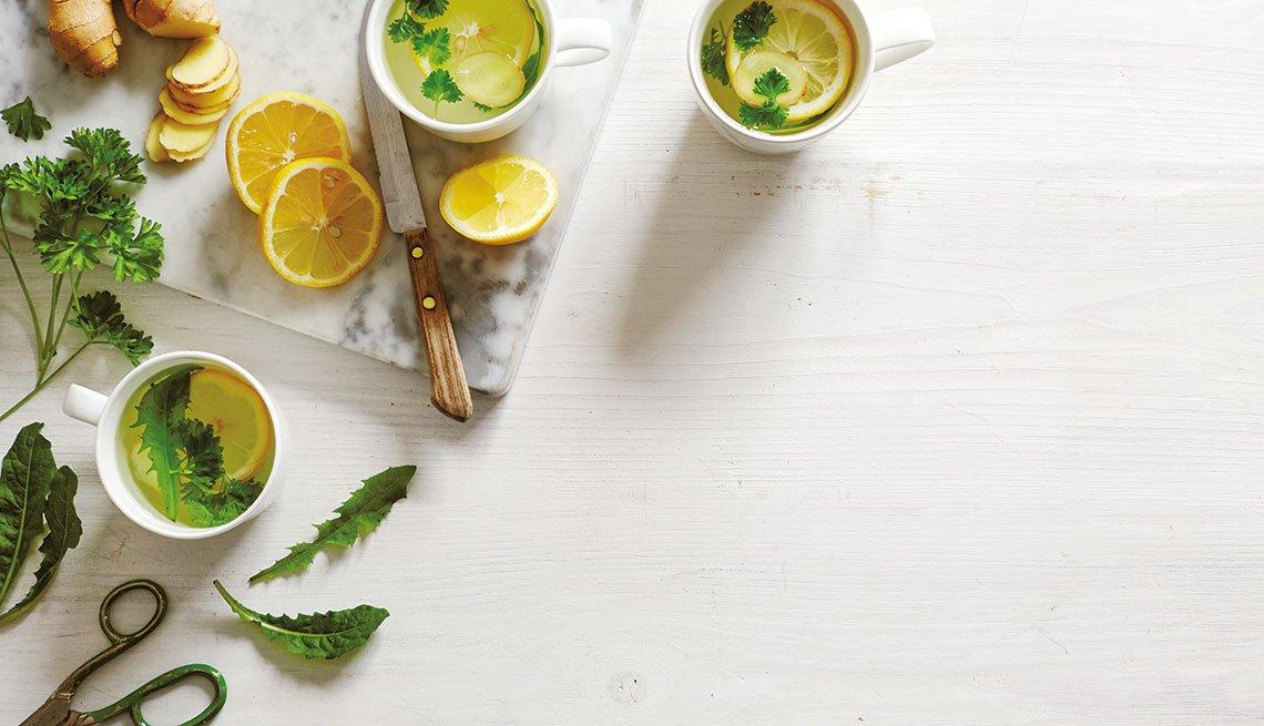 Tés con hierbas y semillas que sanan - Té para la mañana