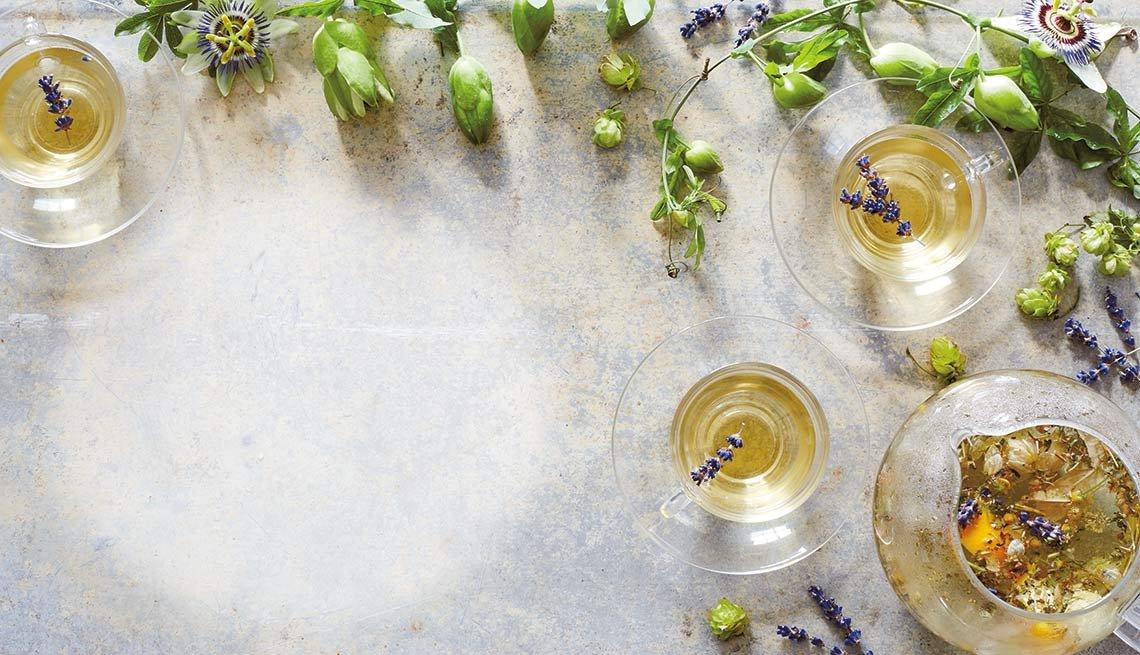 Tés con hierbas y semillas que sanan - Té para dormir mejor