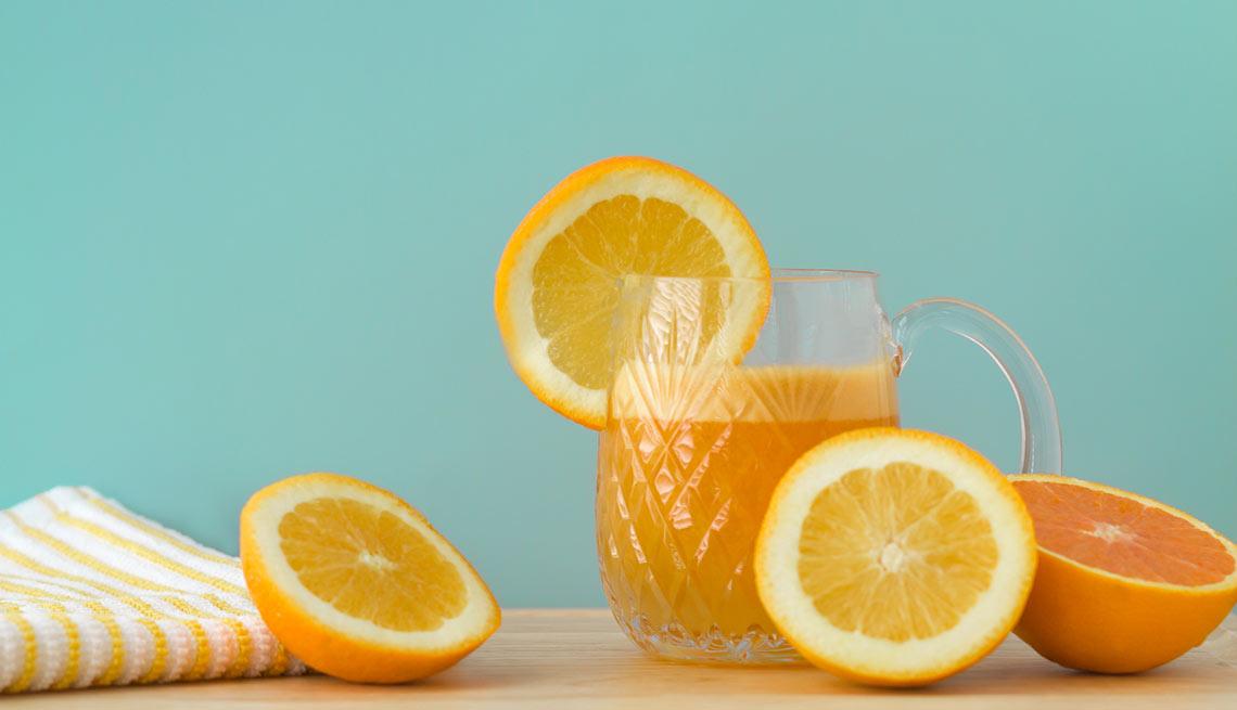 papel para las naranjas y la diabetes