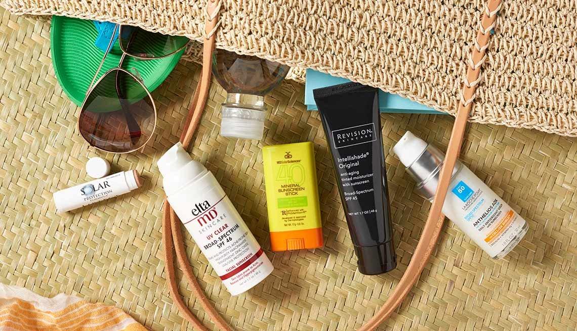 Bolso con protección contra el sol - Gafas y protectores solares