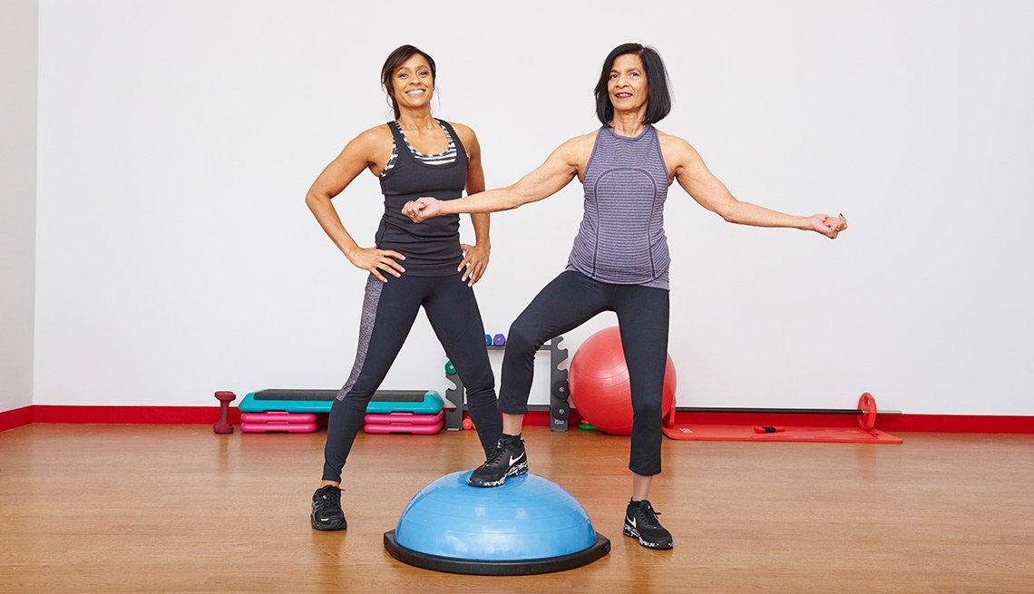 PB My Workout: Ramona and Lucy Braganza