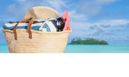Bolso de playa