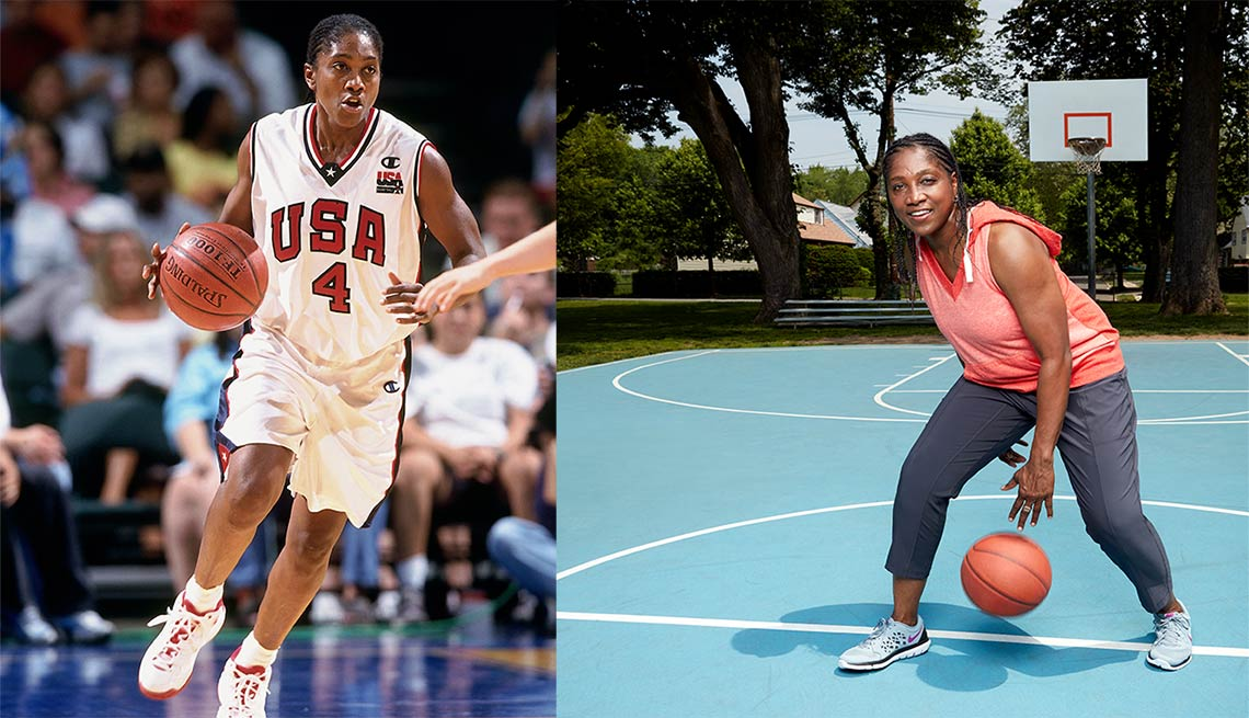 Teresa Edwards, jugadora de baloncesto aficionado