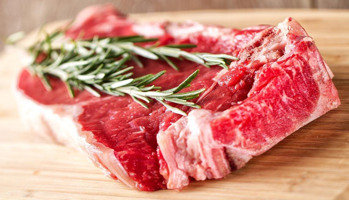 Carne roja - Combatir la inflamación