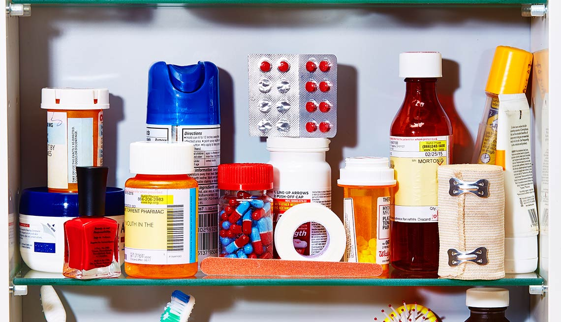 Beware expired medications in your medicine cabinet