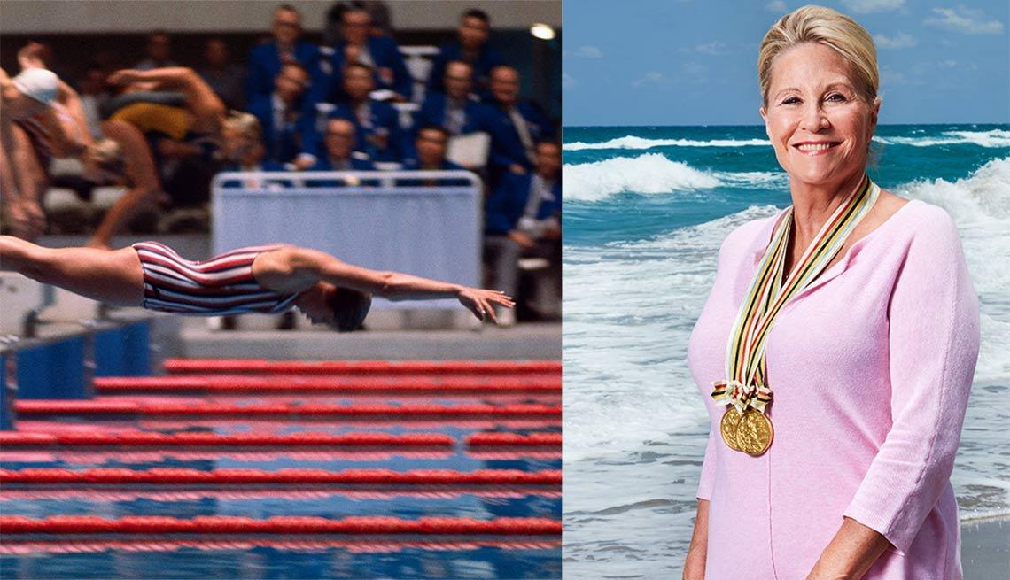 Donna de Varona, nadadora olímpica