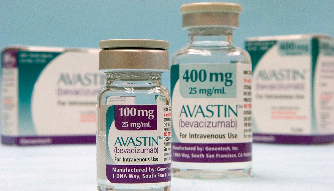 Frascos del medicamentos Avastin