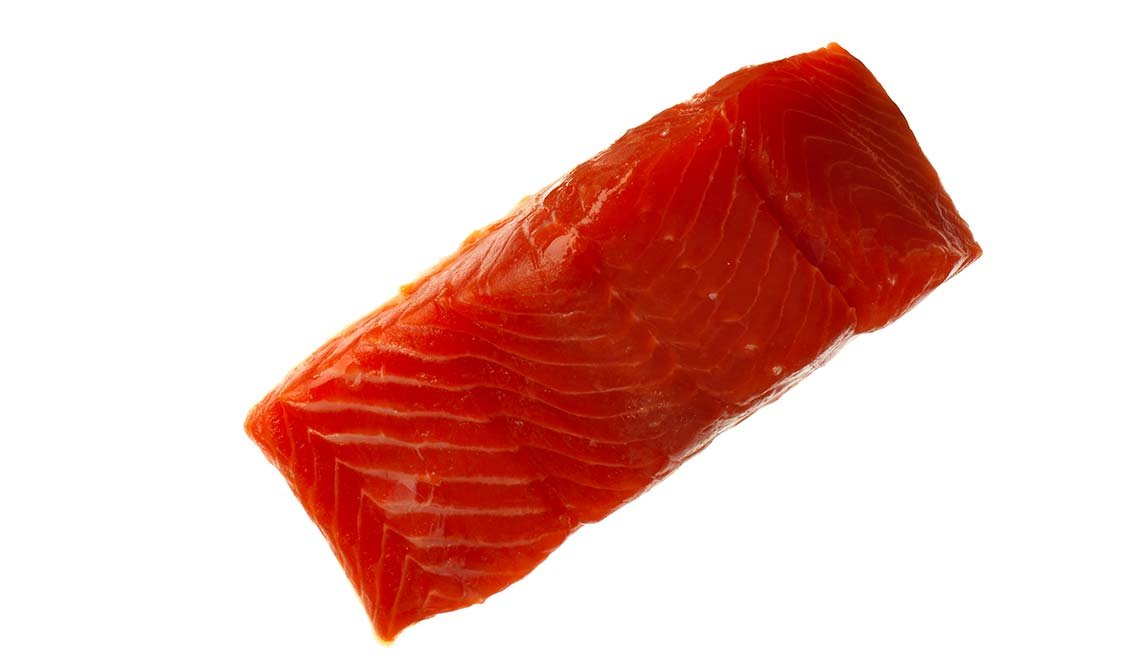 Trozo de salmón