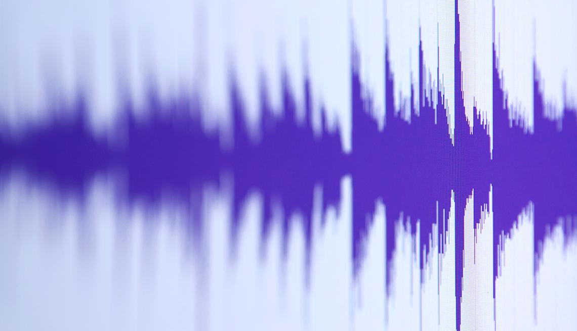 Gráfico de ondas de sonido - Cómo usar y acostumbrarse a tus nuevo audífonos