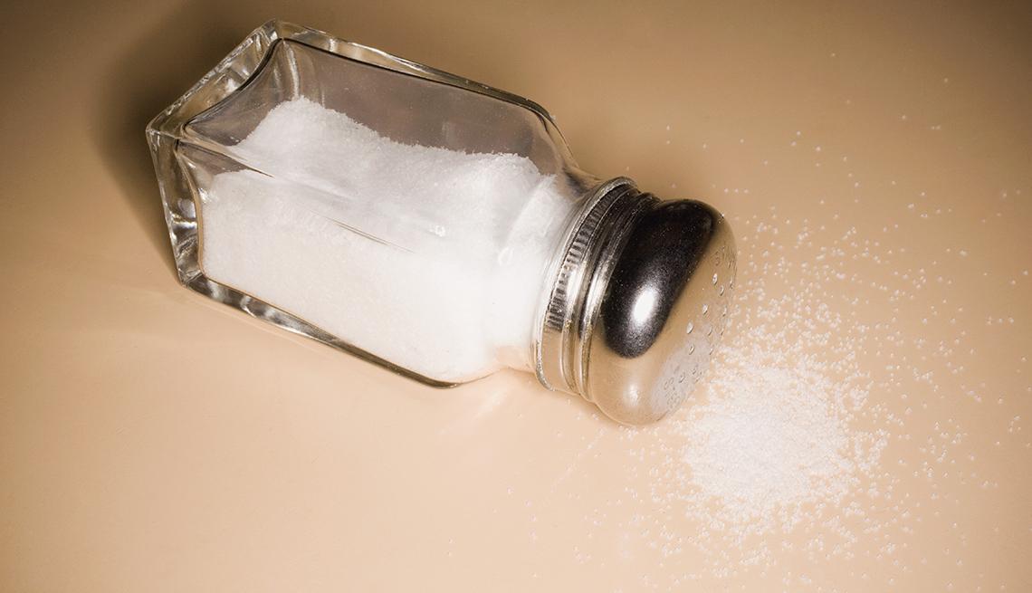 Frasco de sal