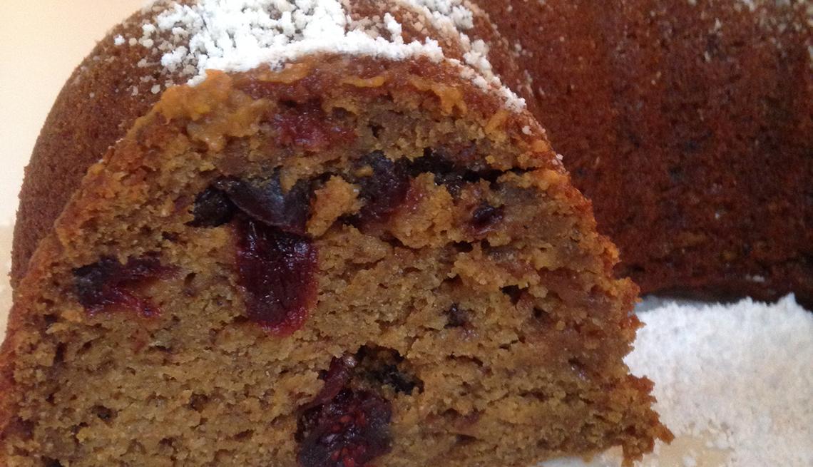 Pumpkin cranberry desert, Thanksgiving Recipes and Not a Pinch of Guilt