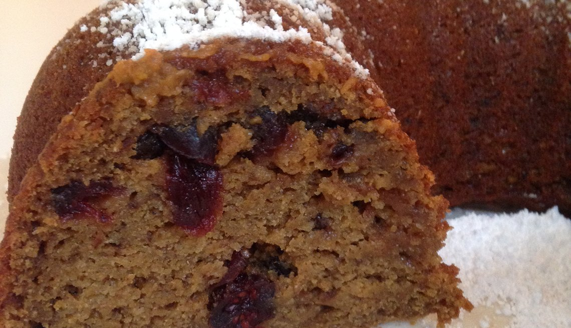 Pumpkin cranberry desert, Thanksgiving Recipes and Not a Pinch of Guilt