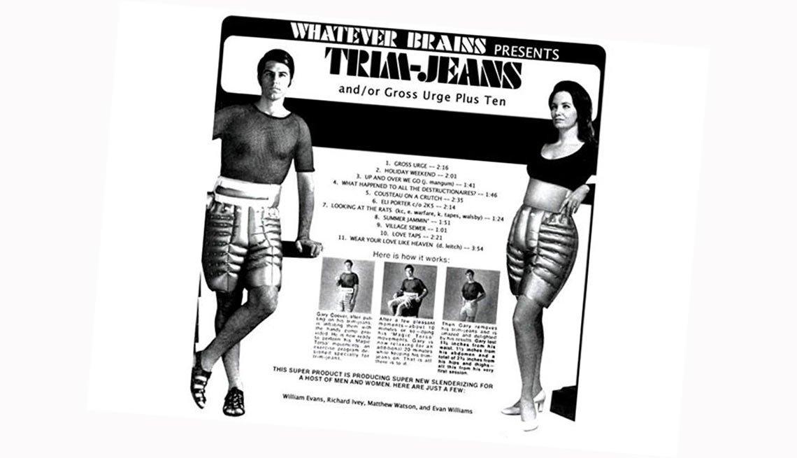 Un anuncio para los Trim-Jeans - Modas de los gimnasios