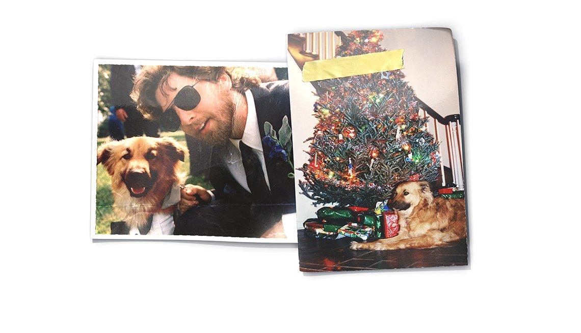 David Dudley y su perro