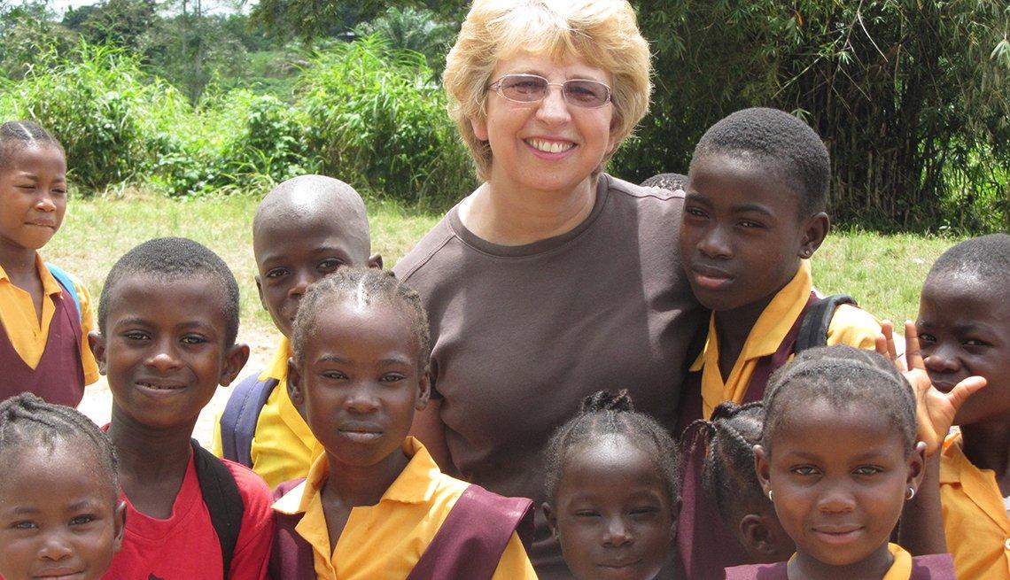 Nancy Writebol, sobreviviente de ébola