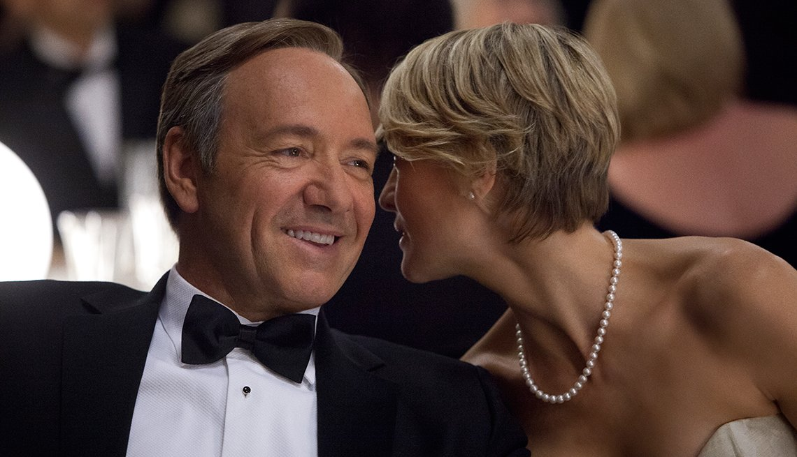 Kevin Spacey y Robin Wright
