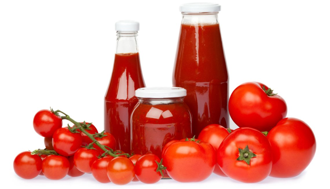 Tomatoes fresh and in sauce, Health Boosters