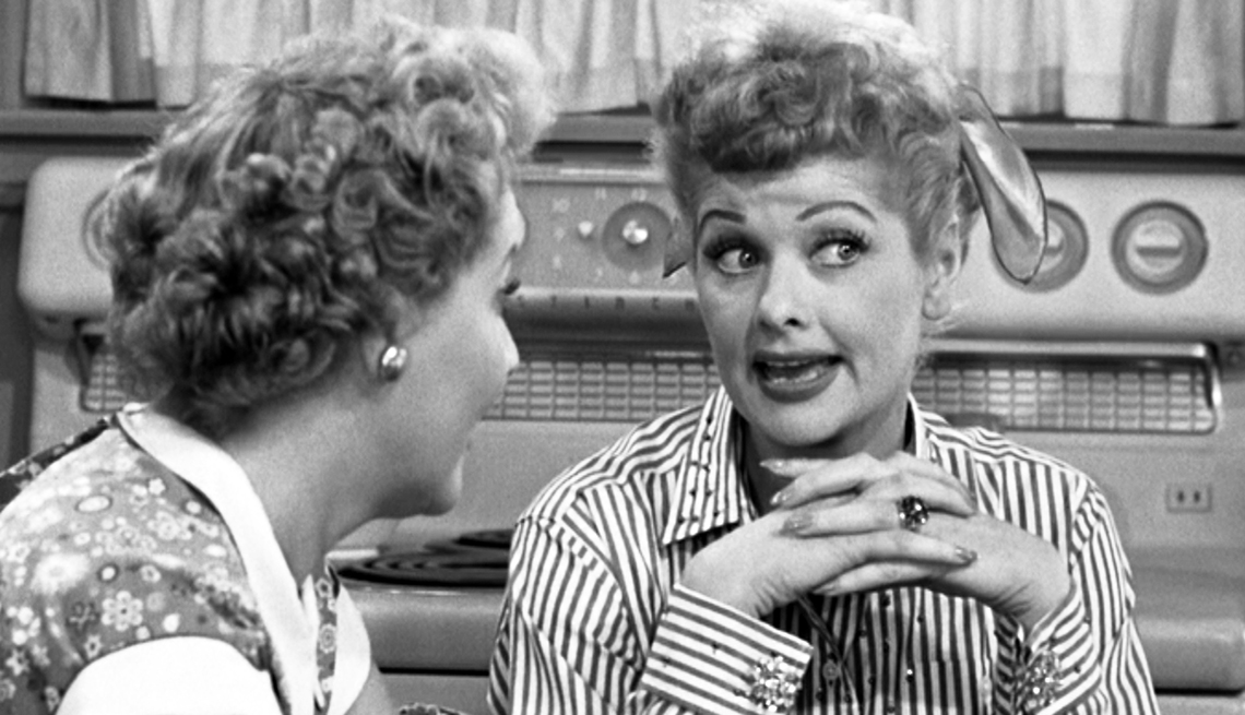 Lucy and Ethel gossipping, Bad Habits That Are Good For You