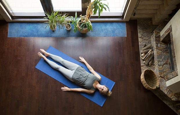 Yoga - Pose savasana