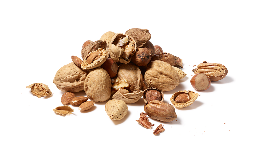 A pile of nuts, Foods That Fight Cancer