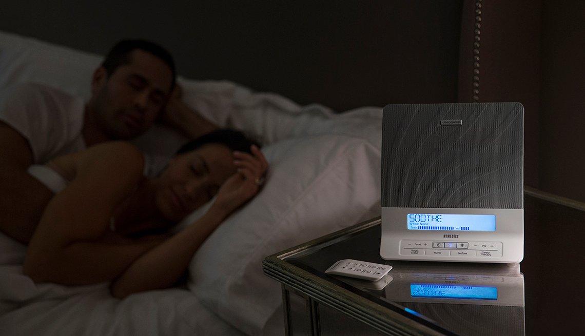 Aparato electrónico que te ayuda a dormir