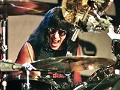 Baterista de banda de rock