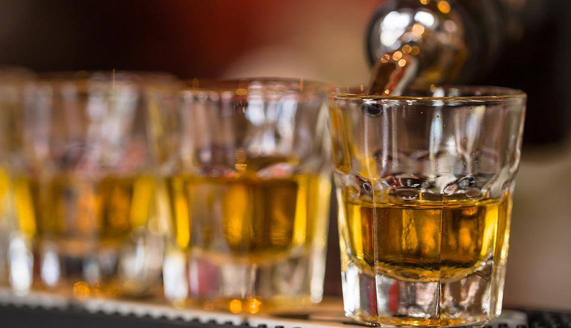 drinking alcohol moderately may increase bone density