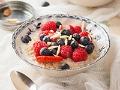 Cereal con frutas y almendras