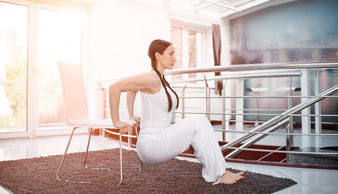 Chair Dip Exercises