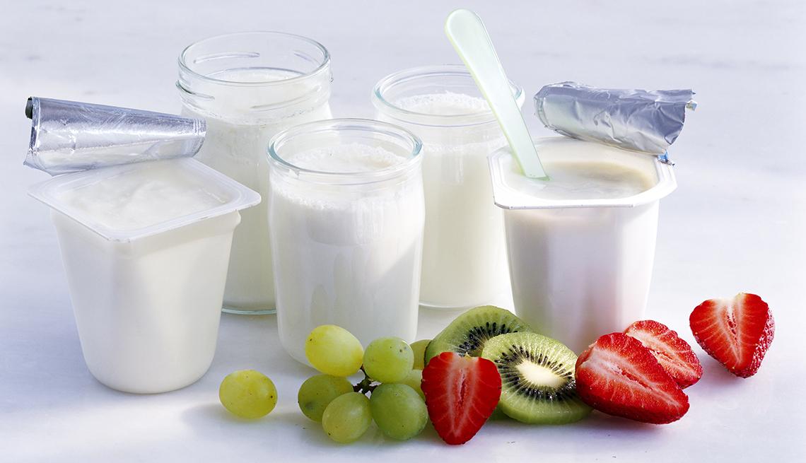 Weighing Yogurts