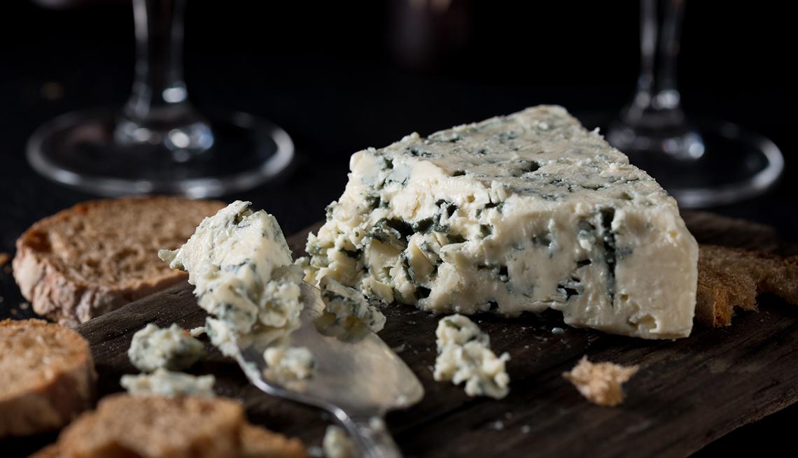 Queso fermentado - Queso azul