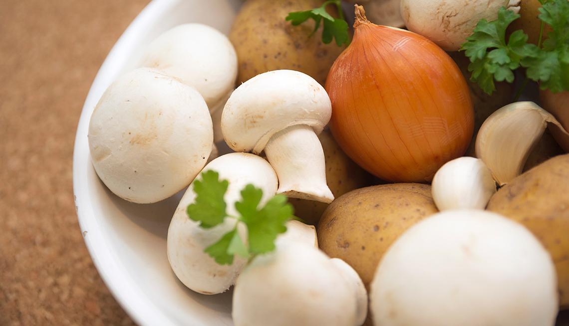 Vegetales y zetas