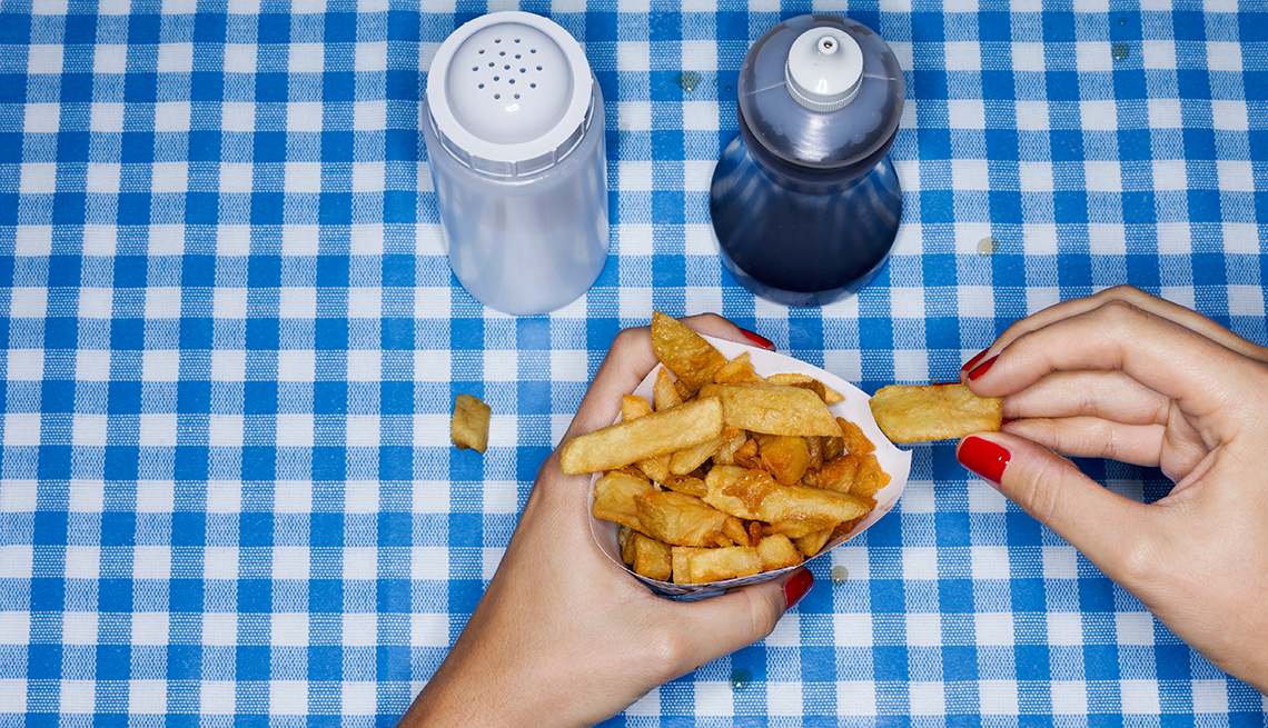 Eating French Fries Weekly Increases Risk Of Death