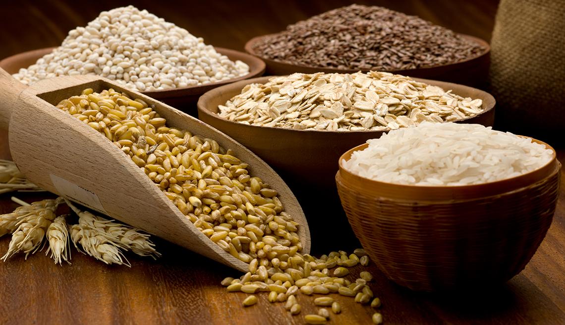 Diferentes tipos de granos