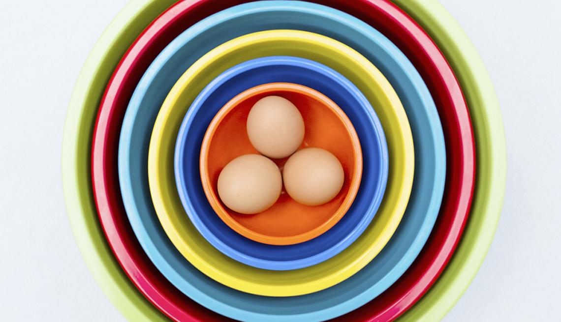 Huevos hervidos