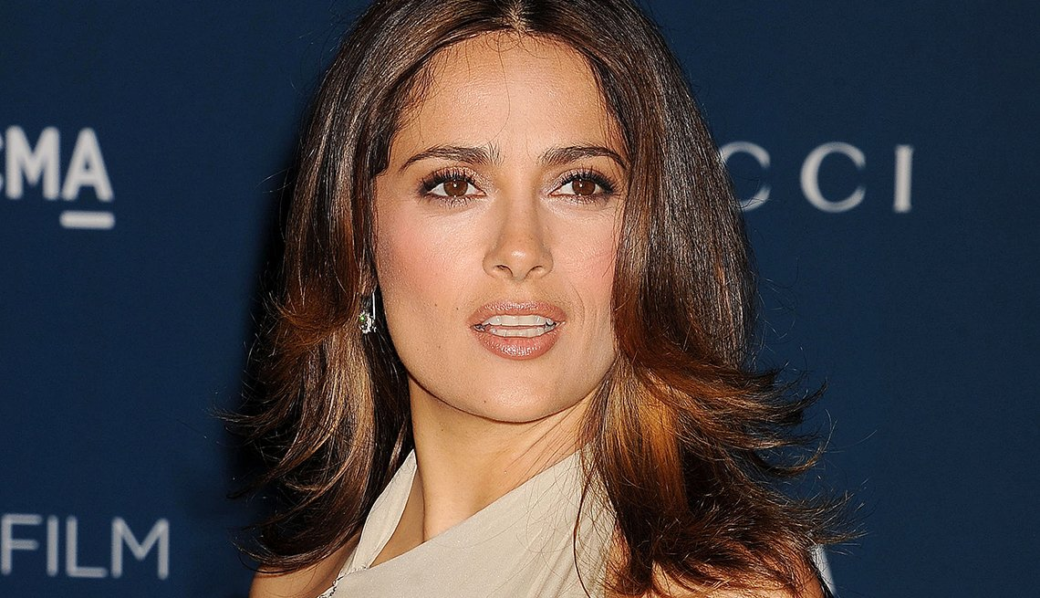 salma, hayek, stay, fit, healthy