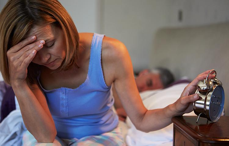 Sleep Middle Aged Women