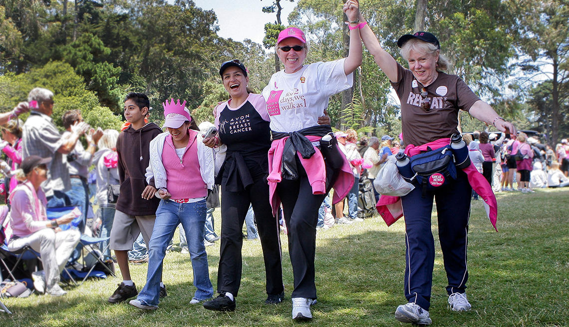 Avon39 Walk for Breast Cancer in San Francisco, California.