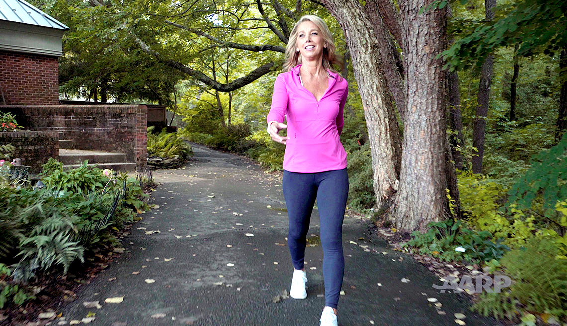 Denise Austin Walking Video