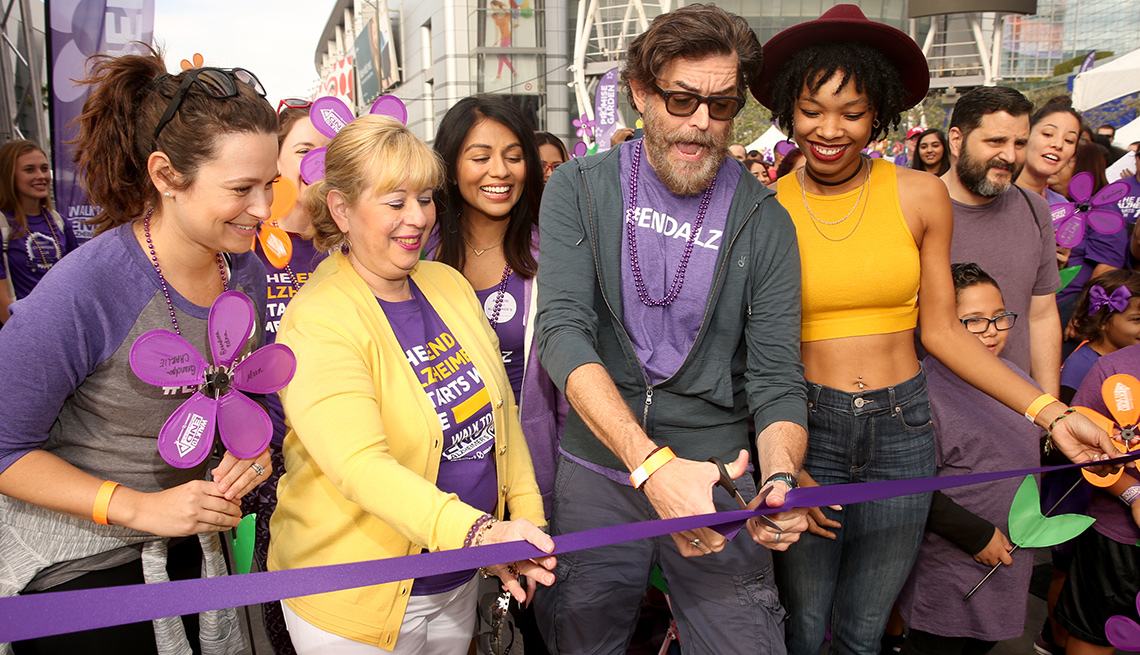 Walk to End Alzheimer's in Los Angeles, California