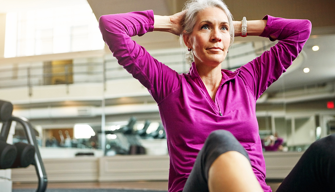 Strength Training Sit Ups
